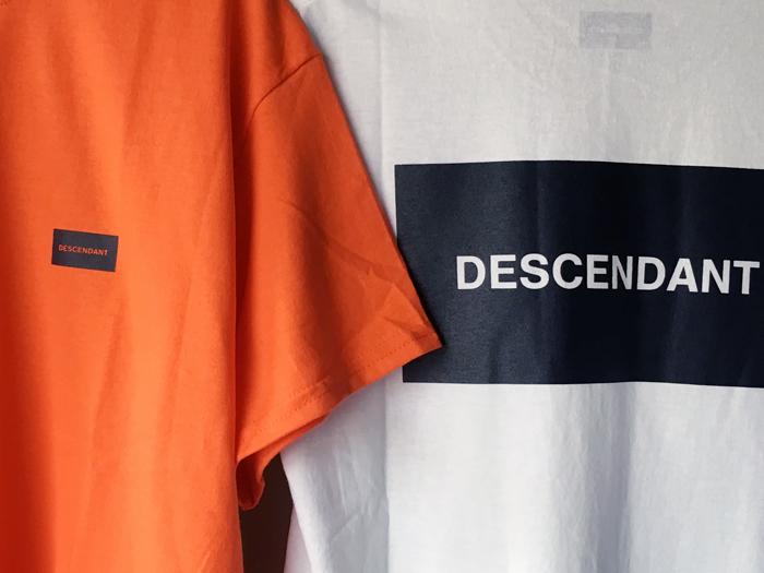 DESCENDANT/BOX CREW NECK SS