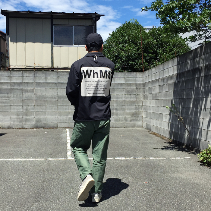 White Mountaineering/WhMt PRINTED COATCH JACKET