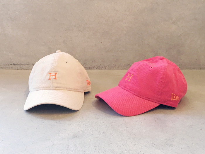 HOLLYWOOD RANCH MARKETNEW ERA x HRM H EMBROIDERED SUMMER CORDUROY CAP