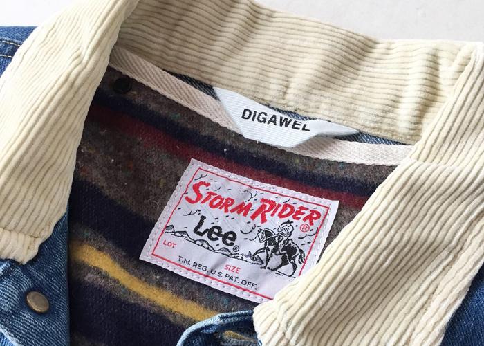 DIGAWEL/STORM RIDER DIGAWEL×Lee