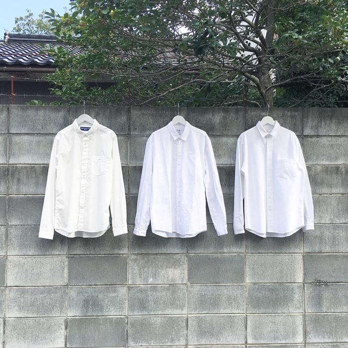 WHITE SHIRT 3 TYPE