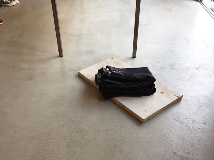 DIGAWEL/STRAIGHT DENIM PANTS