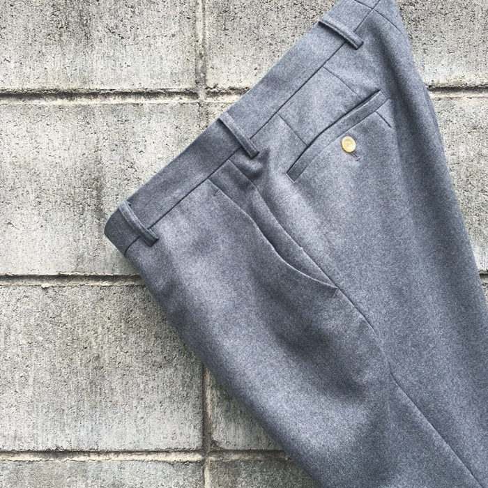 DIGAWEL/FLANNEL SLIM PANTS