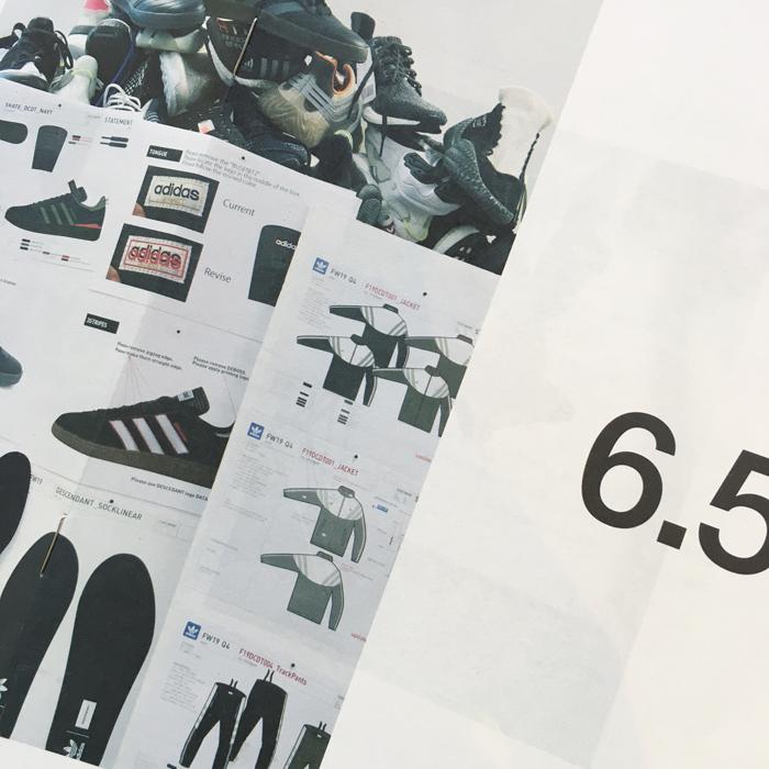 DESCENDANT x adidas Originals/CRUSTAR SNEAKER