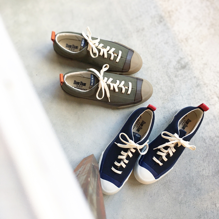 MOONSTAR x BLUE BLUE RIP STOP GYM COURT SHOES