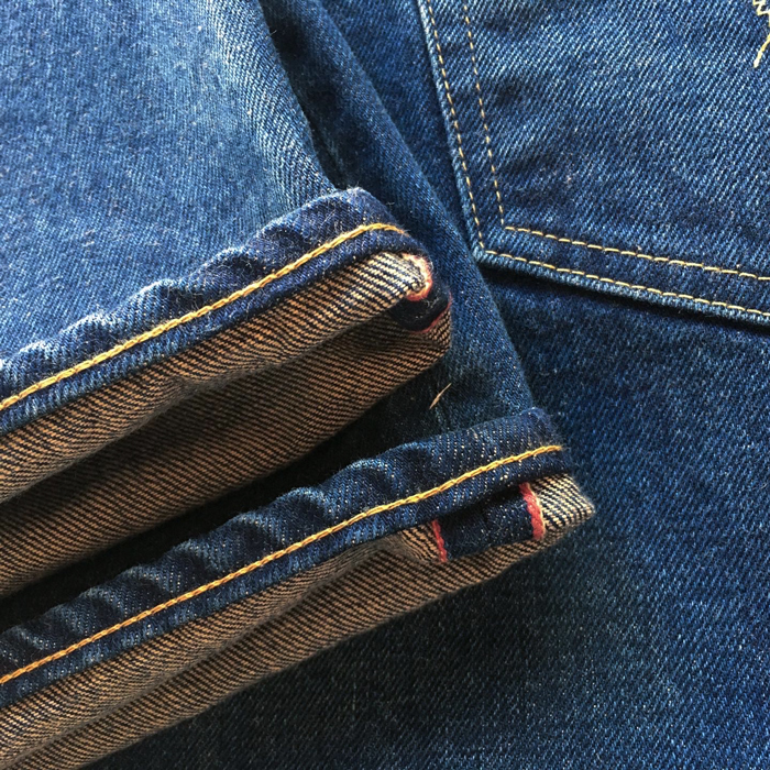 HOLLYWOOD RANCH MARKET/PP4XX VINTAGE WASHED JEANS