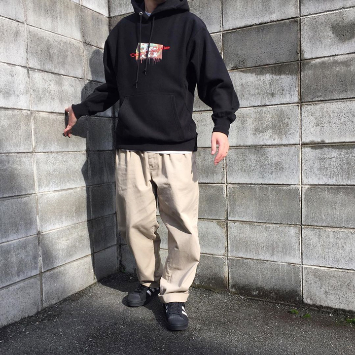 FRT/XXX DONT SMILE HOODED