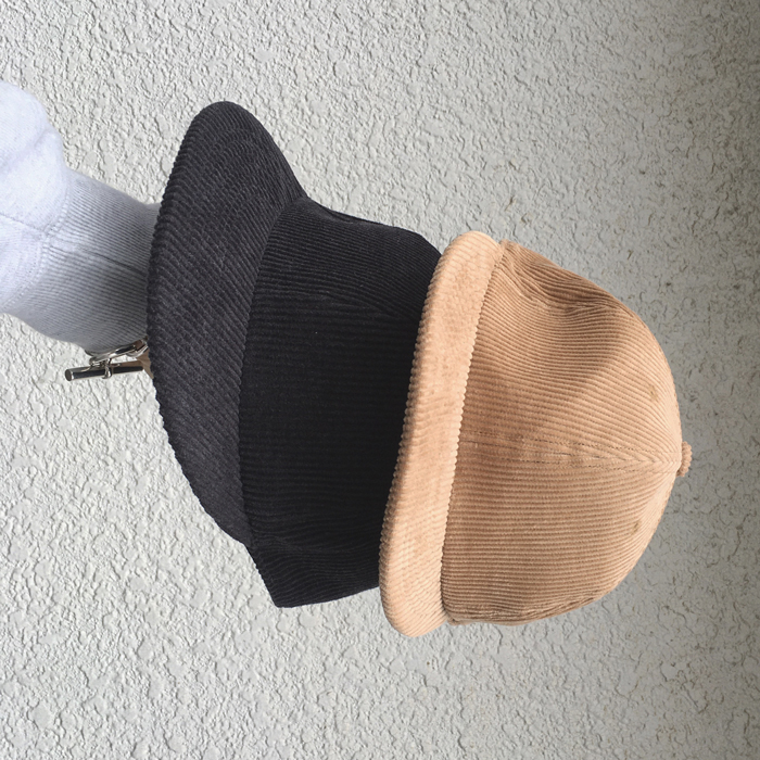 HOLLYWOOD RANCH MARKET/CORDUROY STRAP BACK BASEBALL CAP