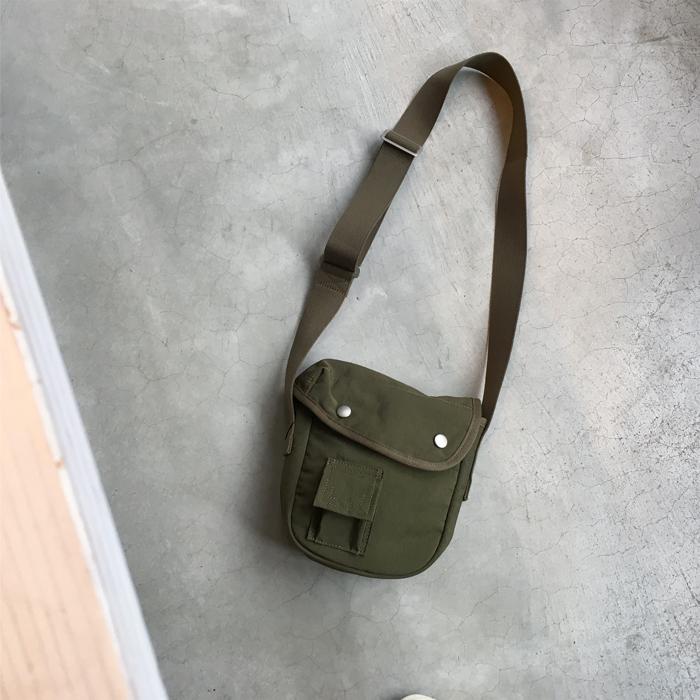 MHL./VINTAGE WASHED NYLON BAG