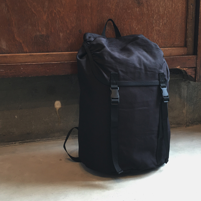 MHL./COTTON NYLON OXFORD BACK PACK