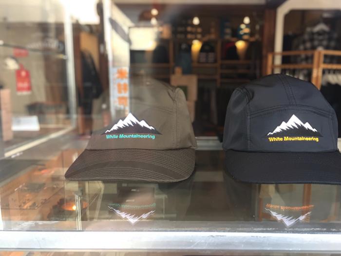 White Mountaineering/MOUNTAIN LOGO EMBROIDERED JET CAP