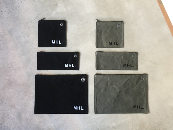 MHL./COATING COTTON CANVAS POUCH