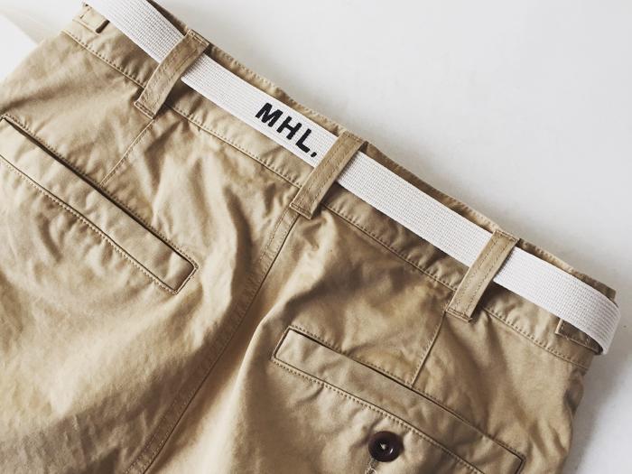 MHL./WASHED CHINO COTTON