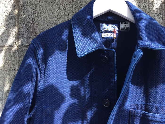 BLUE BLUE JAPAN/HONAI SASHIKO USED COVERALL
