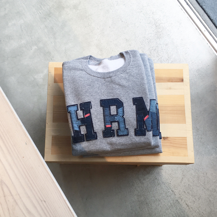 H.R.REMAKE DOUBLE PATCH CN SWEAT