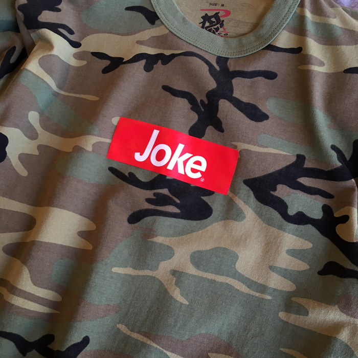 FRT/JOKE S/S T-SHIRT WOOD LAND