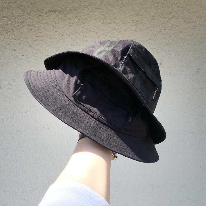 HOLLYWOOD RANCH MARKET/STRETCH RIPSTOP ADJUSTABLE POCKET HAT