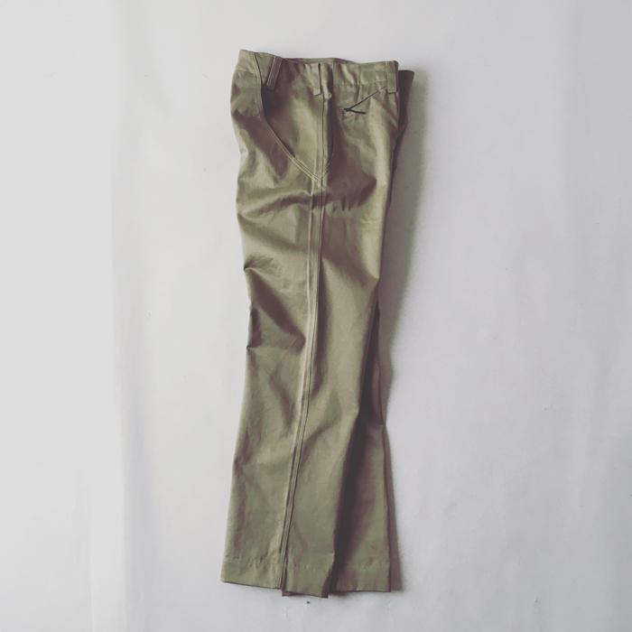 Goldwin Lifestyle/WIDE CHINO PANTS