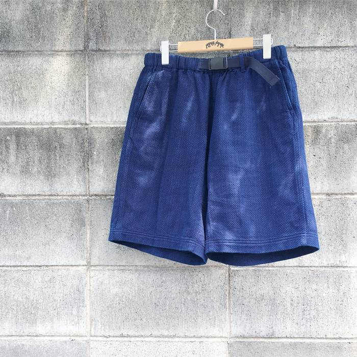 BLUE BLUE JAPAN/KASEZOME SACHIKO MOUNTAIN SHORTS