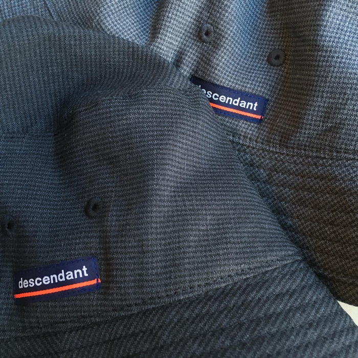 DESCENDANT/BUCKET CHECK HAT