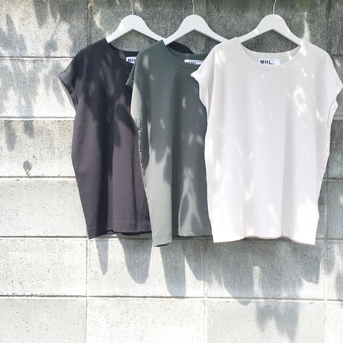 MHL./HIGH TWISTED DRY JERSEY FRENCH SLEEVE