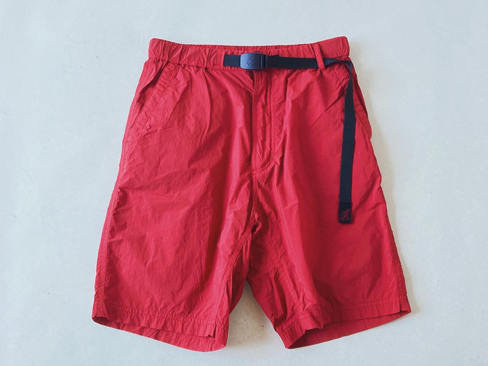 White Mountaineering/WM x Gramicci GARMENT DYED EASY SHORT PANTS