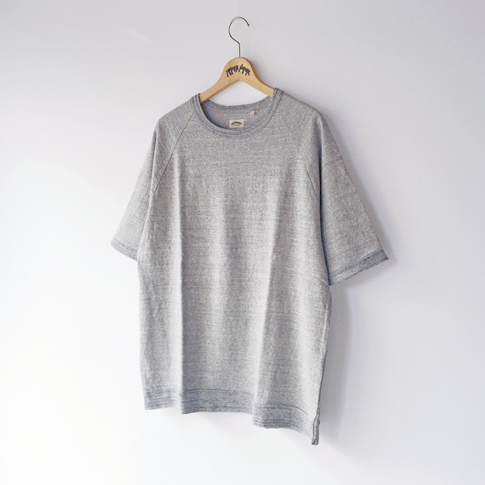 HOLLYWOOD RANCH MARKET/RUSTIC HEAVY COTTON RAGLAN T-SHIRT