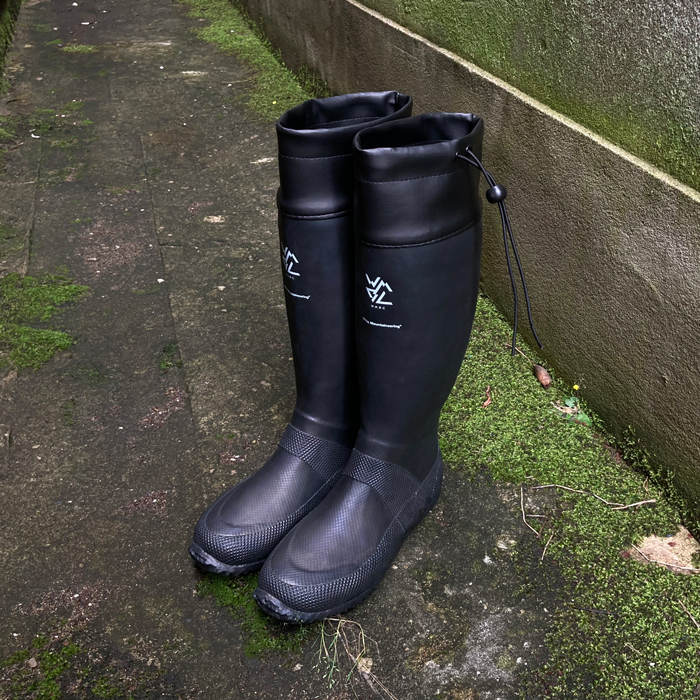 White Mountaineering/PACKABLE RAIN BOOTS