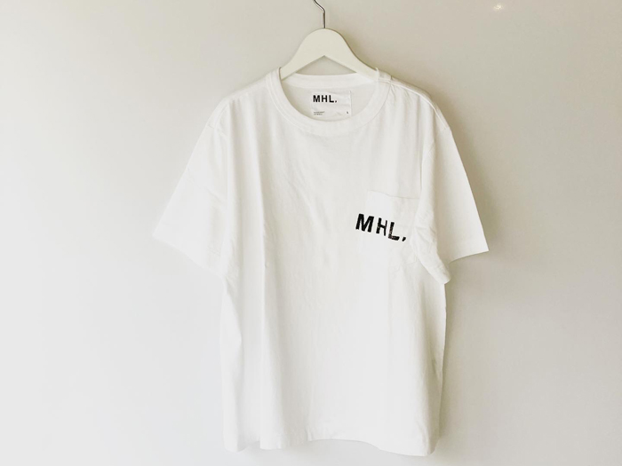 MHL./PRINTED COTTON JERSEY SS