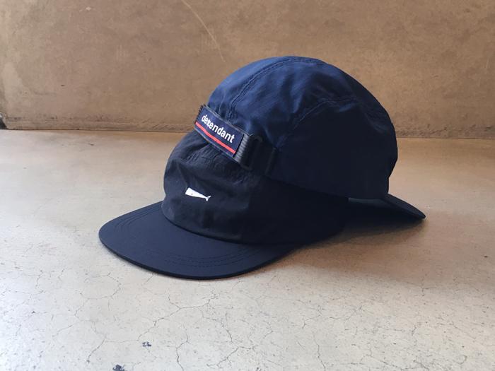 DESCENDANT/CHACHALOT 5PANEL CAP