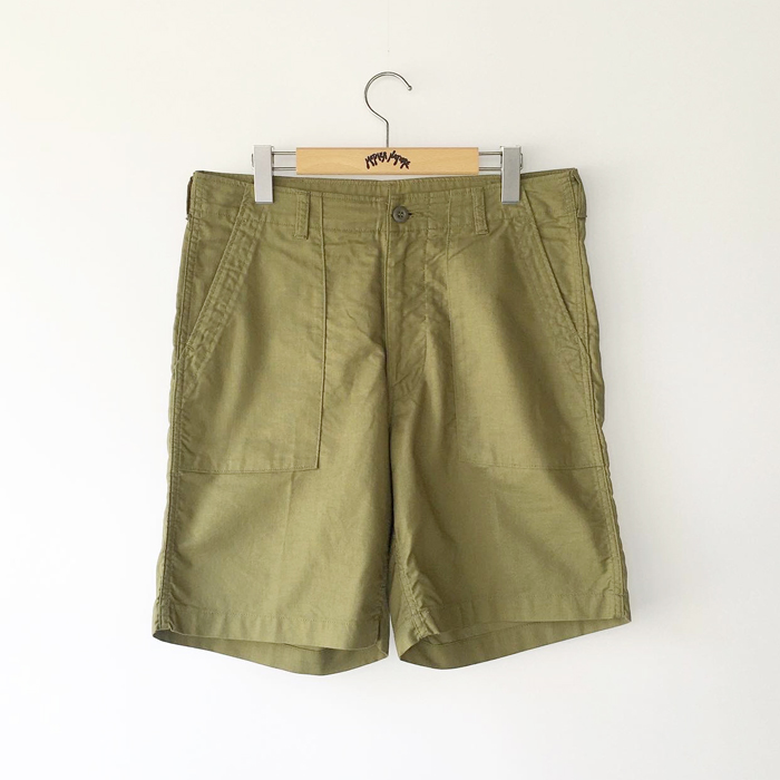 HOLLYWOOD RANCH MARKET/PANAMA CROSS FATIGUE SHORTS