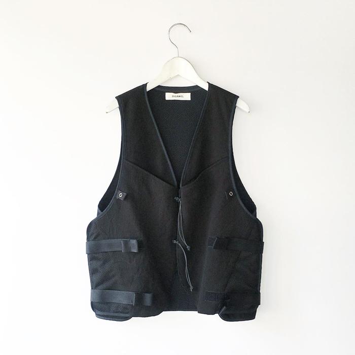 DIGAWEL/VEST� (BLACK)