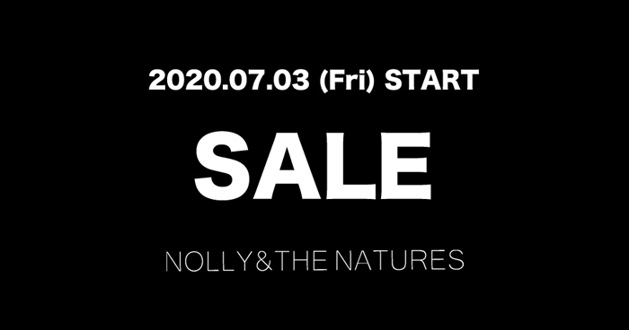 2020 SS SALEのご案内