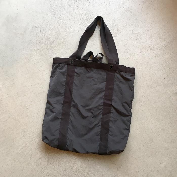MHL./WASHED NYLON BAG