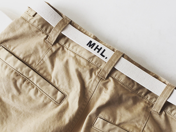 MHL./NARROW MILITARY BELT