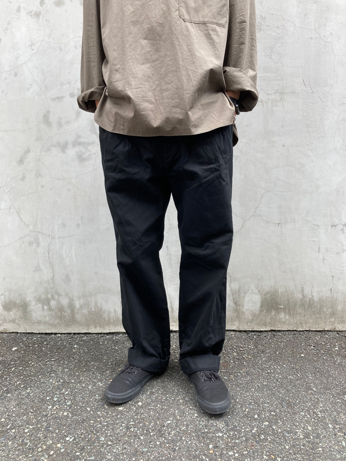 holk(ホーク)/TROUSERS (BLACK)