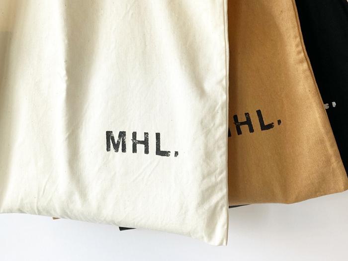 MHL./LIGHT & COLOURED COTTON DRILL TOTE