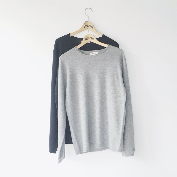 HOLLYWOOD RANCH MARKET/MERINO CASHMERE WASHABLE CN SWEATER