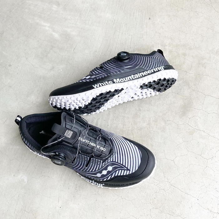 White Mountaineering/WM×SAUCONY SNEAKER SWITCH BACK