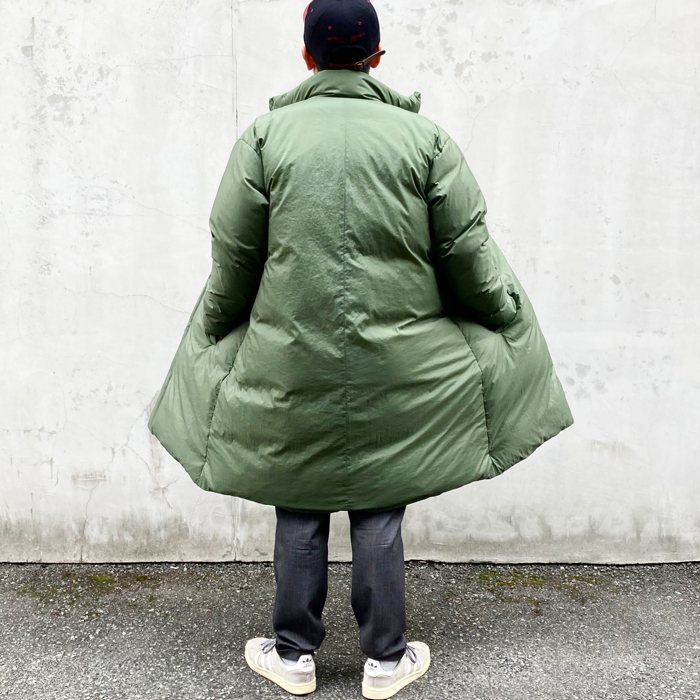 POLYPLOID/STAND COLLAR PUFFER COAT C