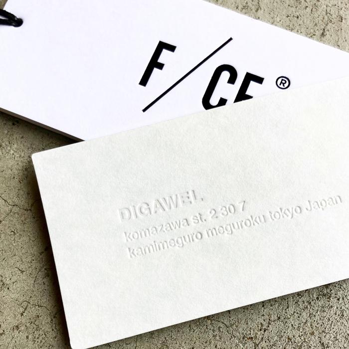 DIGAWEL/F/CE×DIGAWEL REVERSIBLE DOWN JACKET