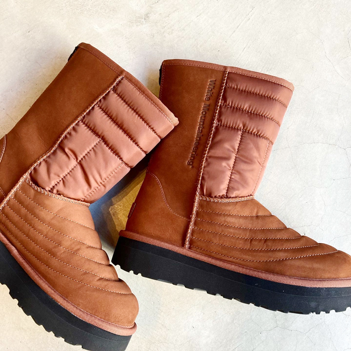 White Mountaineering/xUGG MOUTON QUILTED BOOTS