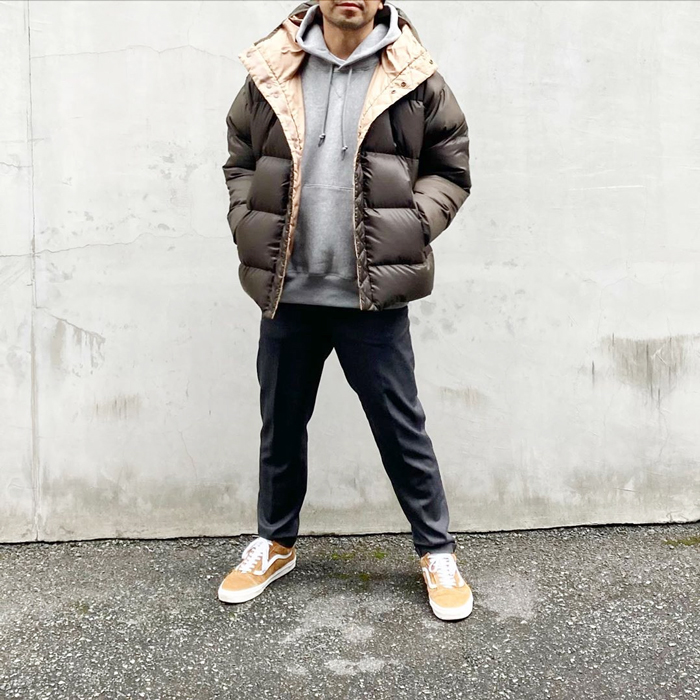 White Mountaineering/REVERSIBLE DOWN JACKET
