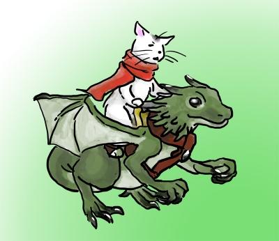 ドラゴンライダーブチネコさん