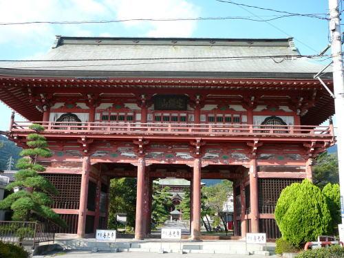 甲斐善光寺。
