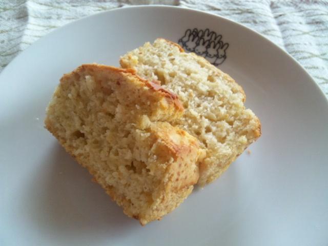 米粉パウンドケーキ。