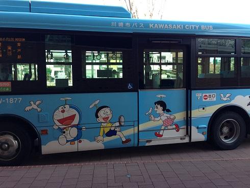 ドラえもんバス。