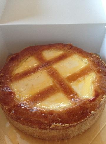 トロイカのチーズケーキ。