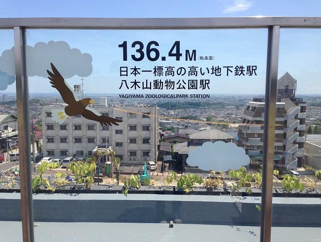 八木山動物公園駅。