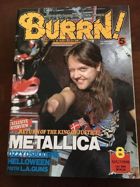 『BURRN!』1990年8月号